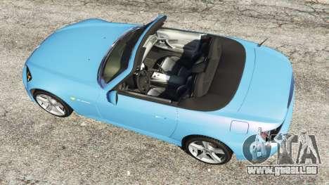 GTA 5 Honda S2000 Rückansicht