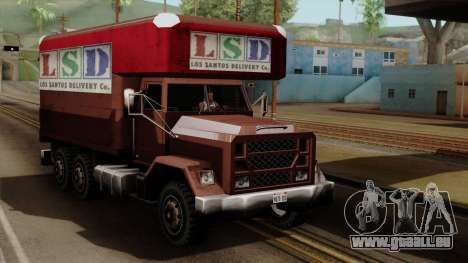 New Flatbed Industrial für GTA San Andreas