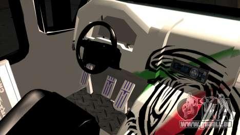 Ford Prisma IV Microbus für GTA San Andreas rechten Ansicht