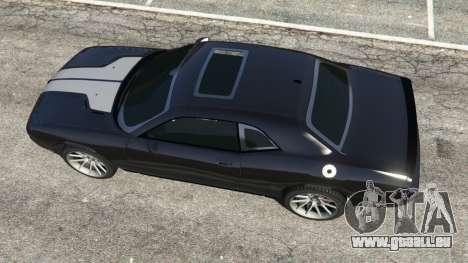 GTA 5 Dodge Challenger SRT8 2009 v0.2 [Beta] Rückansicht