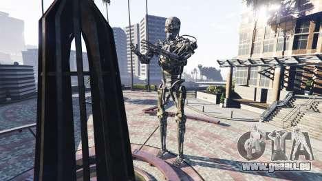 Statue De T-800 pour GTA 5
