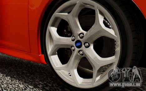 Ford Focus ST 2012 pour GTA San Andreas vue de droite