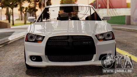 Dodge Charger SRT8 2012 LD für GTA San Andreas Innenansicht