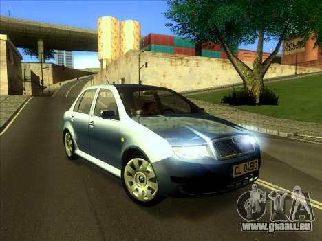 Skoda Fabia 2001 für GTA San Andreas