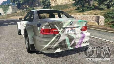 BMW M3 GTR E46 PJ2 pour GTA 5