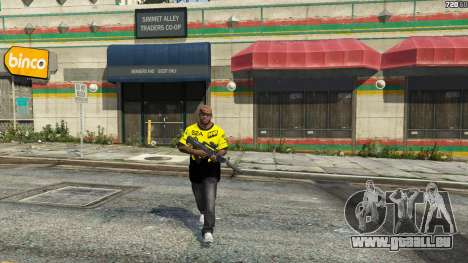 GTA 5 T-shirt für Natus Vincere Franklin vierten Screenshot