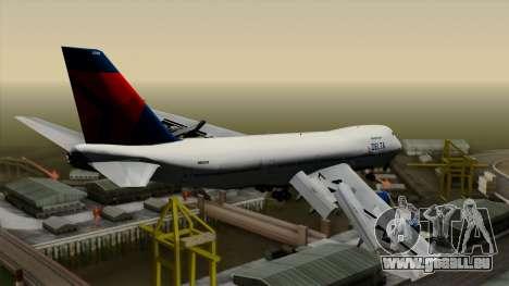Boeing 747 Delta für GTA San Andreas linke Ansicht