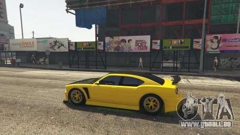 GTA 5 Downtown Anime Mod 1.3 deuxième capture d'écran