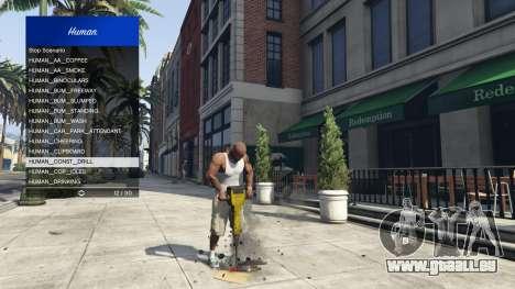 Scenario Menu 1.1 für GTA 5
