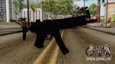 Original HD MP5 für GTA San Andreas