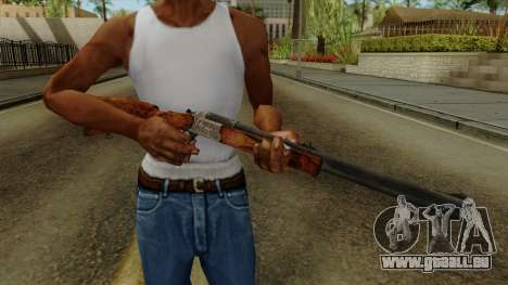 Original HD Rifle für GTA San Andreas dritten Screenshot