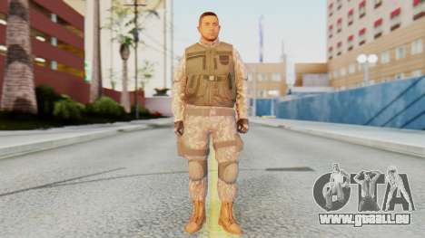[GTA5] BlackOps1 Army Skin pour GTA San Andreas deuxième écran