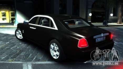 Rolls-Royce Ghost 2013 v1.0 pour GTA 4 est un droit