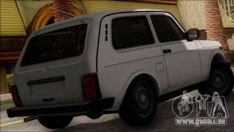 VAZ Niva 2121 BUFG Édition pour GTA San Andreas laissé vue