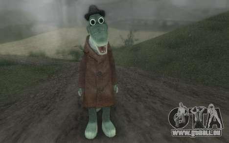 Krokodil Gena für GTA San Andreas zweiten Screenshot