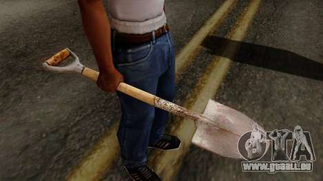 Original HD Shovel für GTA San Andreas
