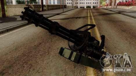 Original HD Minigun pour GTA San Andreas