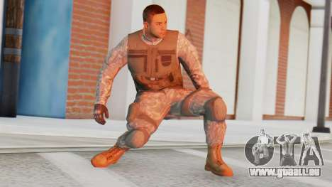 [GTA5] BlackOps1 Army Skin für GTA San Andreas