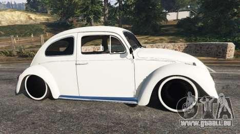 GTA 5 Volkswagen Beetle vue latérale gauche