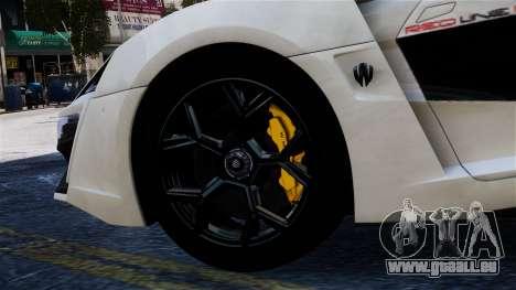 Lykan Hypersport 2015 EPM für GTA 4 rechte Ansicht