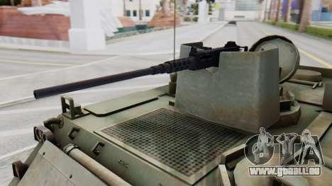 M113 from CoD BO2 pour GTA San Andreas vue de droite