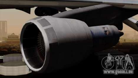 Boeing 747 PanAm pour GTA San Andreas vue de droite