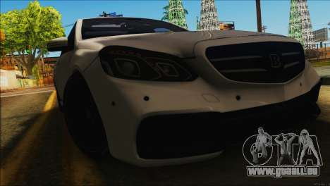 Mercedes-Benz E63 Brabus BUFG Edition pour GTA San Andreas laissé vue