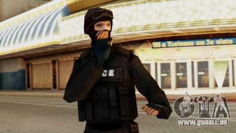 Modifié SWAT pour GTA San Andreas
