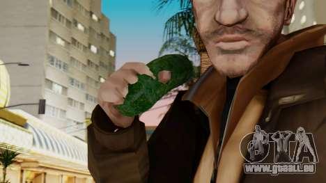 Concombre pour GTA San Andreas troisième écran