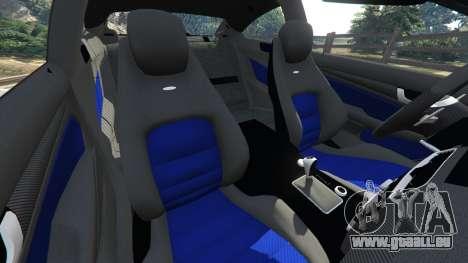 Mercedes-Benz C63 AMG 2012 LCPD für GTA 5