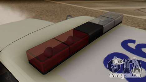 GTA 5 Albany Esperanto Police Roadcruiser für GTA San Andreas Rückansicht