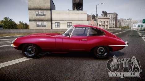 Jaguar E-type 1961 für GTA 4 linke Ansicht