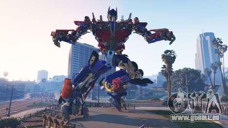 Die Statue Von Optimus Prime für GTA 5