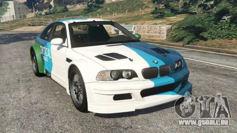 BMW M3 GTR E46 PJ1 für GTA 5