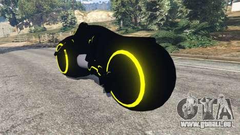 Tron Bike yellow für GTA 5
