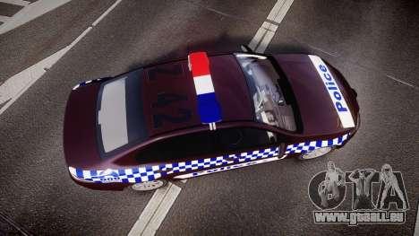 Ford Falcon FG XR6 Turbo NSW Police [ELS] v3.0 pour GTA 4 est un droit