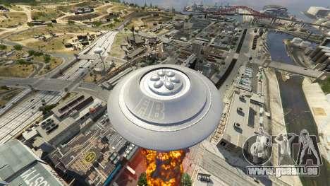 GTA 5 UFO Mod 1.1 achten Screenshot