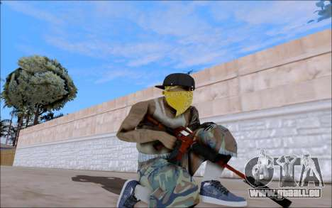 M4A1 Crimzone für GTA San Andreas
