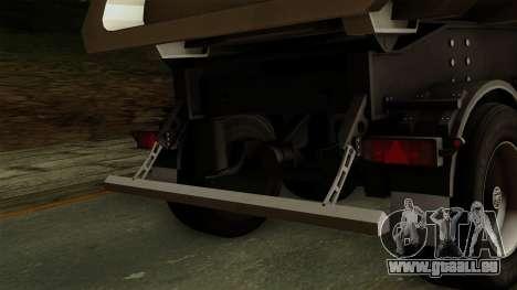 Opentop_JJ pour GTA San Andreas vue de droite