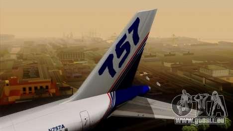 Boeing 757-200 (N757A) für GTA San Andreas zurück linke Ansicht