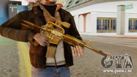 CAR-15 SA Style für GTA San Andreas dritten Screenshot