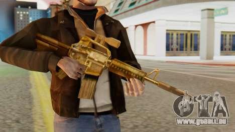 CAR-15 SA Style pour GTA San Andreas troisième écran
