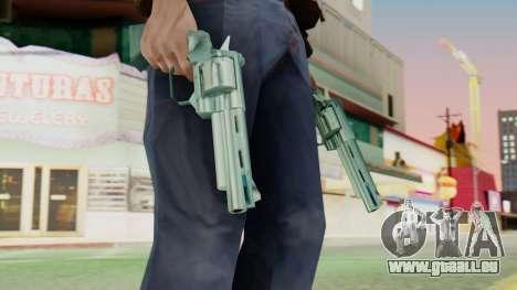 Colt Python pour GTA San Andreas troisième écran