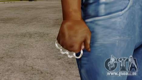 Original HD Brass Knuckle für GTA San Andreas dritten Screenshot