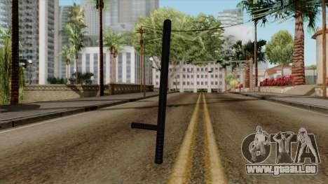 Original HD Night Stick pour GTA San Andreas deuxième écran