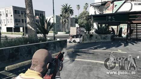GTA 5 M-76 Wiedergänger из Mass Effect 2 sechster Screenshot