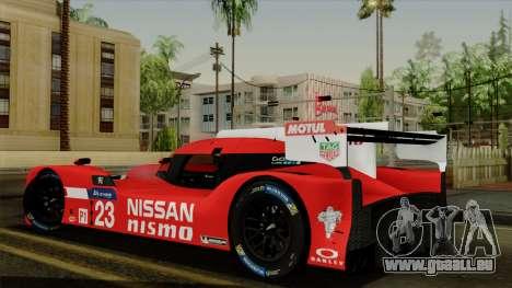 Nissan GTR LM LMP1 2015 pour GTA San Andreas laissé vue