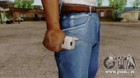 Original HD Cell Phone pour GTA San Andreas troisième écran