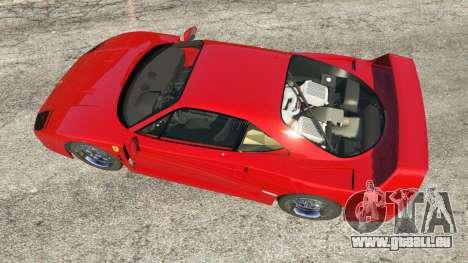 GTA 5 Ferrari F40 1987 v1.1 Rückansicht