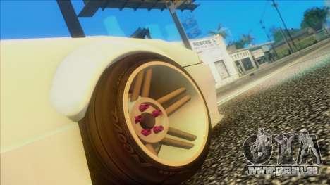 Elegy Rocket Bunny Edition pour GTA San Andreas vue de droite